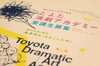 豊田演劇アカデミー第7期生募集なんだそうです。 2014/04/09 20:41:51