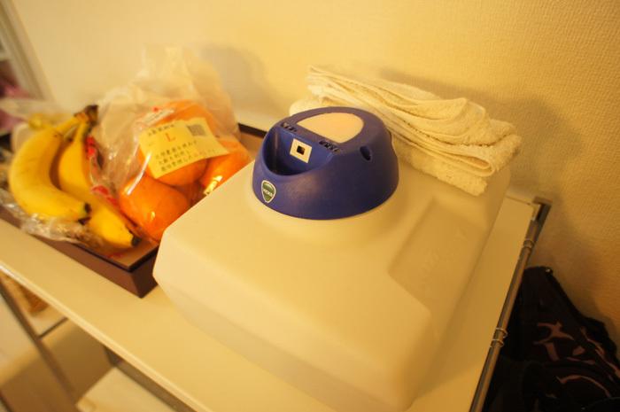 玄米食vsアトピーの闘いにて。乾燥肌対策に役だったヴェポラッブの加湿器。