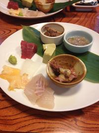 岡崎市のお寿司屋さん千福鮨 (せんぷくずし)で「このわた」とか「ウニ」とか美味しかったです♡ 2015/04/04 21:00:00