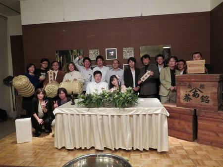 夢農人とよた会長の結婚式2次会