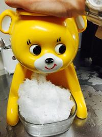 かき氷のきょろちゃん 2015/06/16 12:43:00