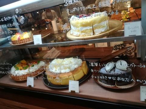 cafe po.ttoでソフトクリームパフェ(^.^)