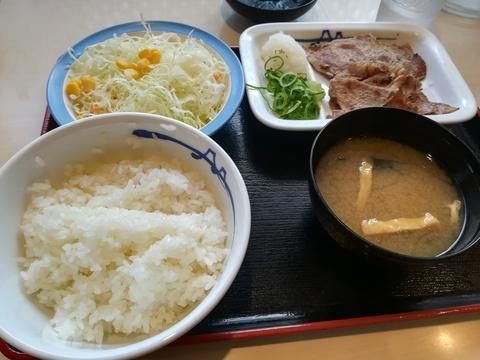 松屋のごろごろ煮込みチキンカレー(*´∀`)♪