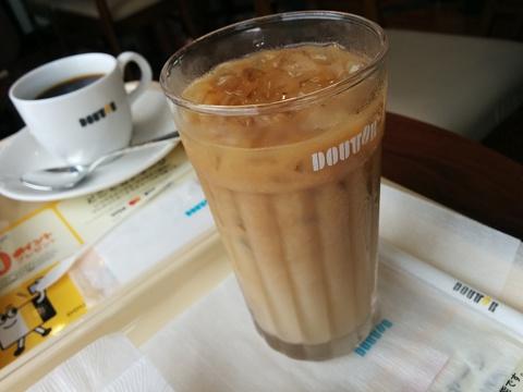 ドトールコーヒーでモーニング(*´∀)ノ