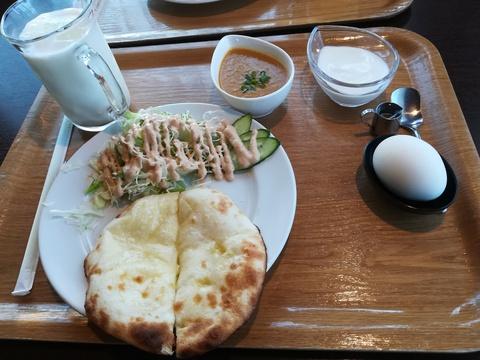 朝からウェルカム·ネパールレストラン(^_^)v