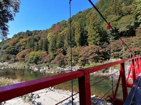 秋だから香嵐渓に行こう( ´∀` )②