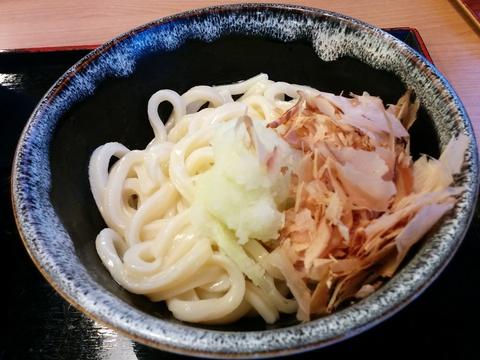 讃岐製麺で冷たいうどん(^.^)