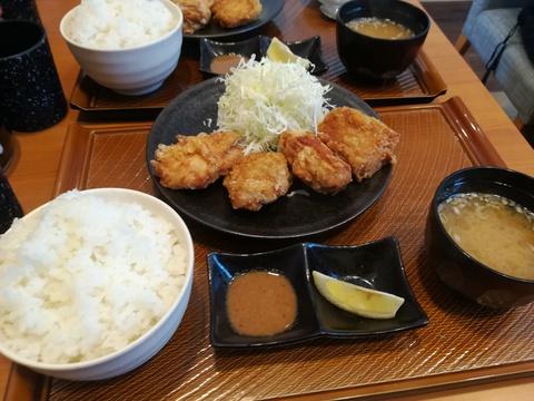 から好しで唐揚げを食べよう(^-^)/