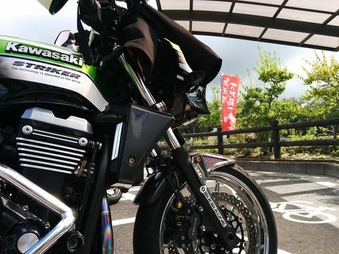 バイクとかき氷とコンビニスイーツ(*´∀)ノ
