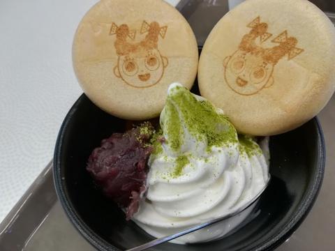 スガキヤのもなかクリームを食べよう(^-^)/