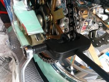 DAEG オーバースイングアームtype9 交換-2