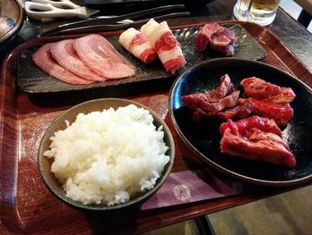 牛タン一番亭で焼肉ランチ(^.^)