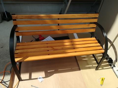 カーマの木製ベンチを作ろう(^-^)/