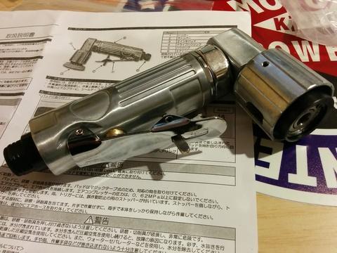 新しい工具をアストロで(^_^)v