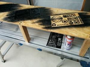 余った木材でガレージの棚を作るぞぉ~(^_^)v