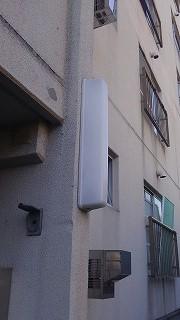 集合住宅共用灯器具取替え
