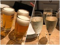 イケバル(豊田市)でスパークリングワイン 飲み放題♪