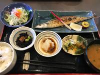 さんまの塩焼き定食♪ ランチ 【なぎさ寿司】