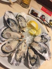 【生牡蠣】をたべて大満足!