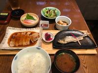 鮎の塩焼・・・ランチ♪♪ (豊田市 PAPA'S) 2018/09/29 15:53:55