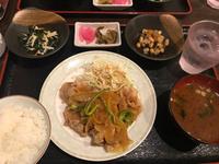 鶏の唐揚げ定食 (豊田市 三松)