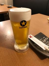 突然のお誘い・・・ビール・・・食事・・・イイネ。