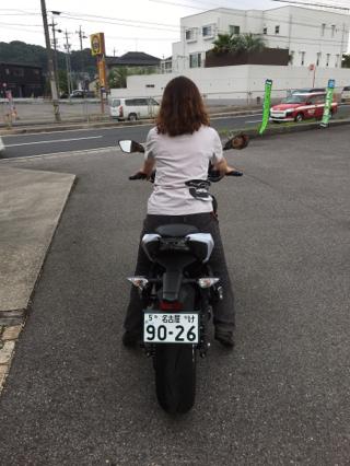 身長150cmでも試乗できた!!オススメ大型バイク☆☆