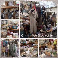 明日もO・NI・WA Shopです!