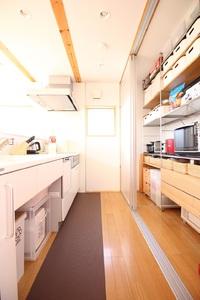 無印良品の家 キッチン。