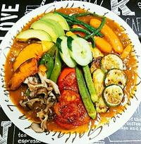 夏野菜たっぷりゴロゴロカレー
