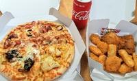 宅配ピザと体調不良とわたし