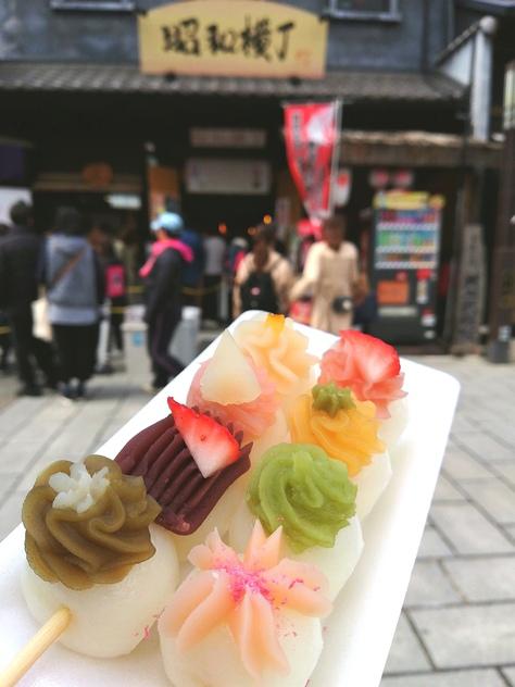 犬山城下町食べ歩きいろいろ♬