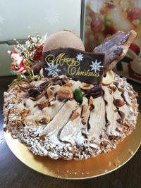 ブールブールさんのクリスマスケーキで米寿祝い&我が家のドタバタサンタ
