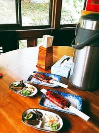 絶品五平餅と、手作りのお漬け物が自然の中で楽しめる 【滝川ふれあい工房】さん (豊田市)