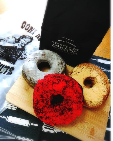 期間限定!ZARAME(ザラメ)のドーナツがメグリア本店に来てます♬