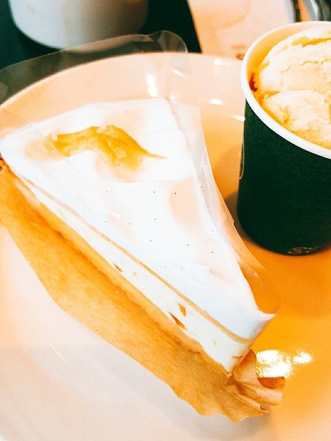 タリーズのケーキセットとかき氷、わたしがタリーズが好きな理由