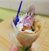 ディッパーダンの桜とあいす抹茶 ¥330 は今日まで!