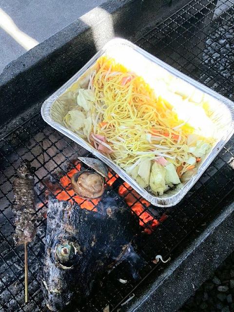 魚太郎で海鮮BBQ!(南知多)