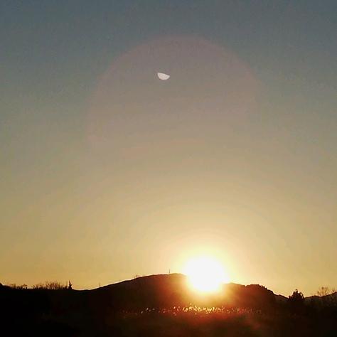 【*2019*】 豊田市の初日の出!あけましておめでとうございます!