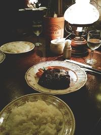 BITOKE(ビトーク)さんの大きなハンバーグのランチ♪(豊田市)