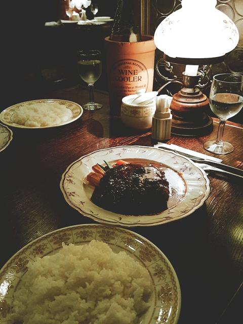 BITOKE(ビトーク)の大きなハンバーグのランチ♪(豊田市)