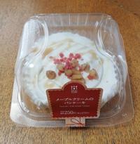 【ローソンUchi Cafe】メイプルクリームのパンケーキ♪