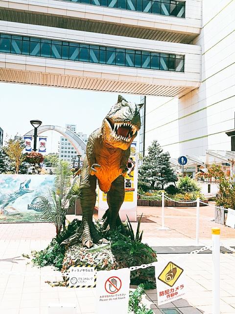 恐竜あさって7/26(木)まで!TSUKUMO食堂さん(T-FACEレストラン街)オープン! (豊田市)