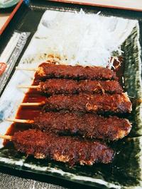 ネオパーサ岡崎★矢場とんの味噌串かつと、岡崎農場のサラダバーに盛り放題ご飯  (岡崎市)