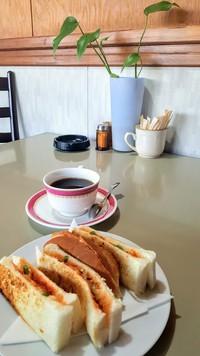 喫茶あいかむ(みよし市)のNEWモーニング