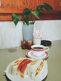 喫茶あいかむのモーニング、ランチ(みよし市)
