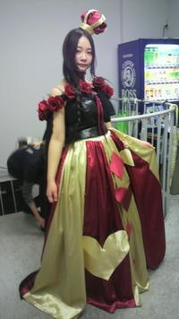 ファッションショー「アリス・赤の女王」