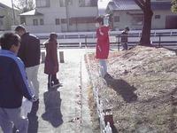 公園清掃に参加しました。