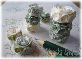 紙で作るアクセサリー ロザフィ