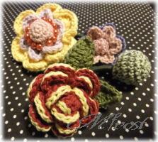 花のヘアゴム